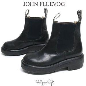 JOHN FLUEVOG Platform Chelsea Boots Booties 6 6.5